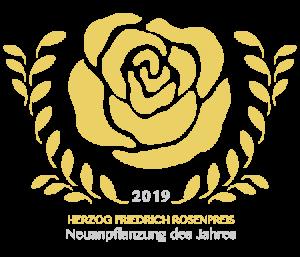 Herzog Friedrich Rosenpreis Friedrichstadt Neuanpflanzung des Jahres